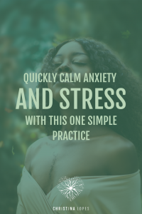 Calm Anxiety and Stress