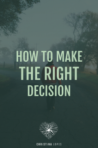 making-the-right-decision
