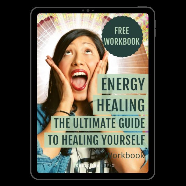 Energy Healing Workbook Cover