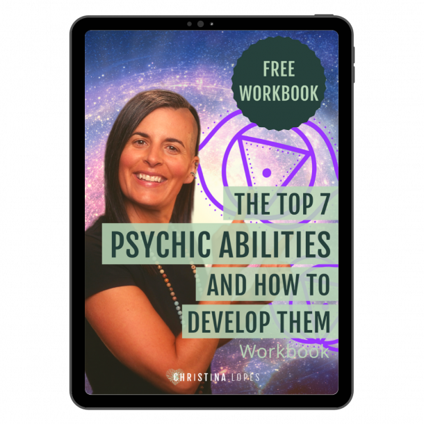 Psychic Abilities Workbook Cover