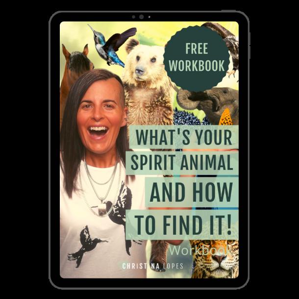 Spirit Animal Workbook Cover