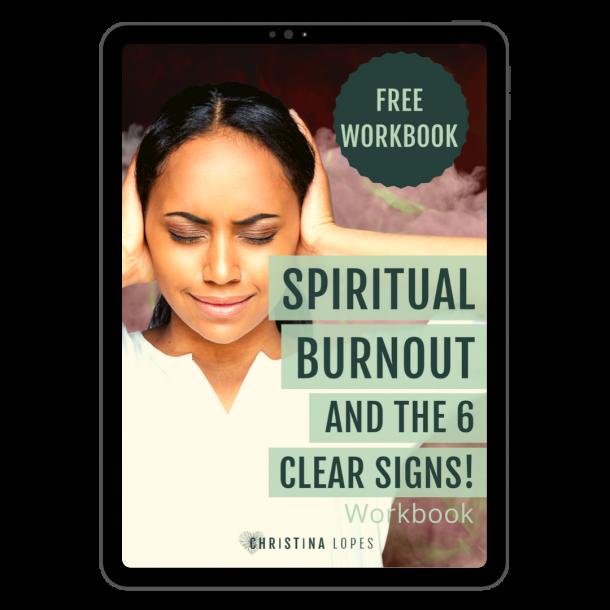 Spiritual Burnout Workbook Cover