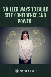 How to build self confidence (Pinterest)
