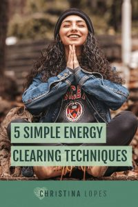 Energy clearing (Pinterest)