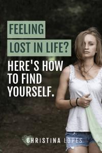 Feeling lost in life (pinterest)