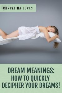 Dream Meanings (Pinterest)