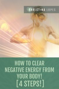 how to clear negative energy (pinterest)
