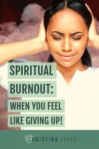 Spiritual Burnout (Pinterest)