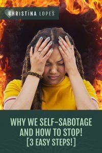 Self Sabotage (Pinterest)