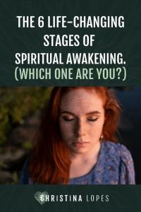Stages of spiritual awakening (Pinterest)