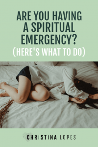 Spiritual Emergency (Pinterest)