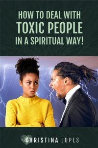 How to Deal with Toxic People (Pinterest)
